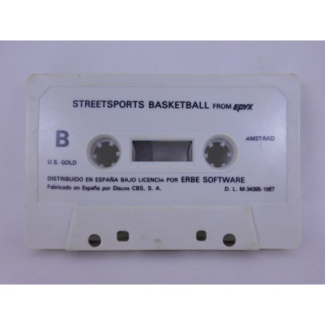 Streetsports Basketball - Amstrad