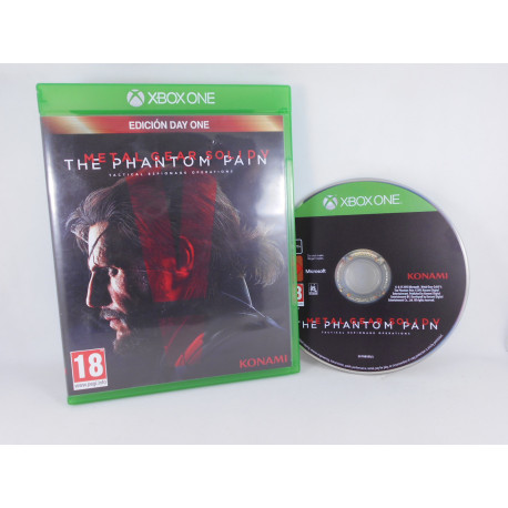 Metal Gear Solid V - The Phantom Pain - Day One Ed