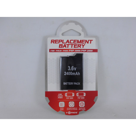 PSP Bateria 2400mAh para PSP 2xxx/3xxx