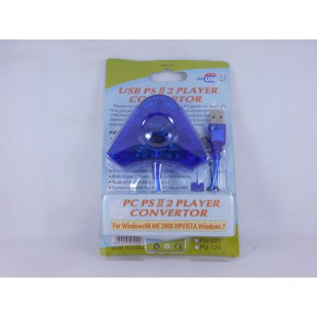 PS3/PC Adaptador Mandos PS2/Playstation