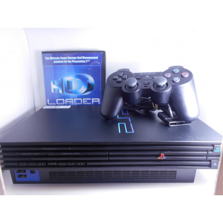 Playstaion 2 + HDD + HD Advance 3.0