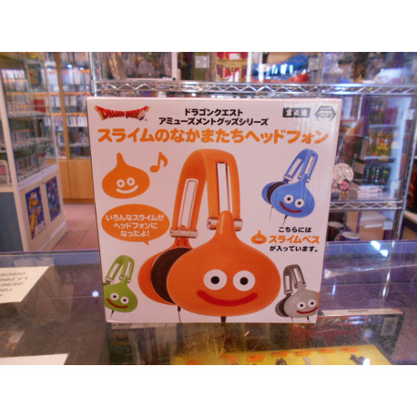 Dragon Quest Orange Slime Headphone