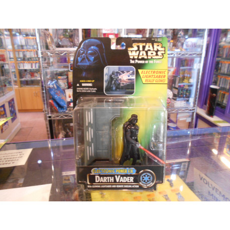 Darth Vader with Glowing Lightsaber - Electronic Power F/X