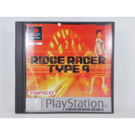 Ridge Racer Type 4 - Platinum