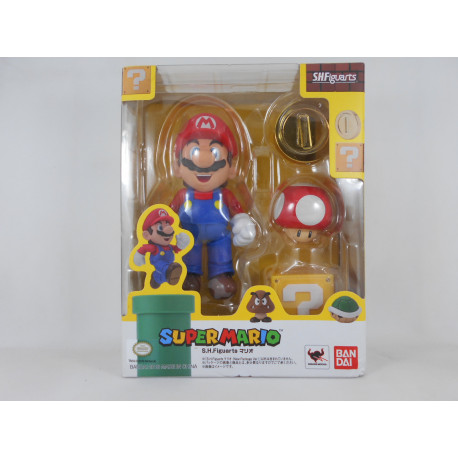S.H. Figuarts Mario (New Package Ver.)