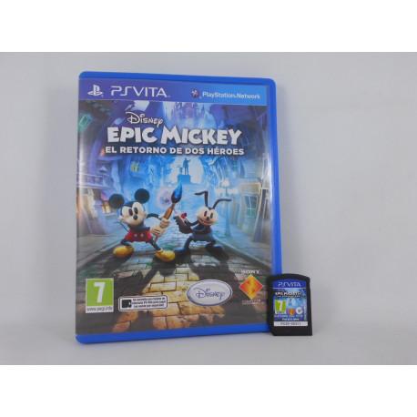 Epic Mickey - El Retorno de Dos Héroes