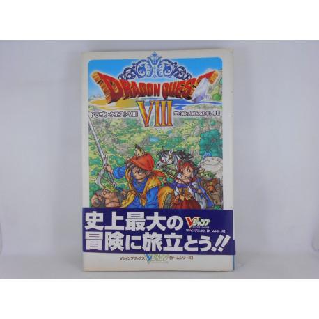 Guia Dragon Quest VIII V Jump Japonesa