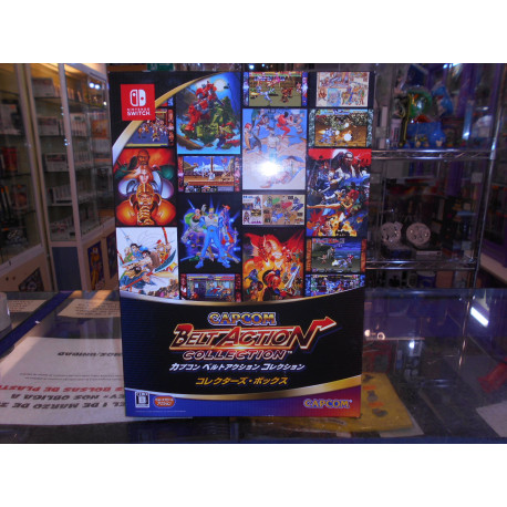 Capcom Belt Action Collection Collector's BOX