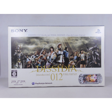 PSP 3000 Dissidia 012: Duodecim Final Fantasy Chaos & Cosmos Limited Edition