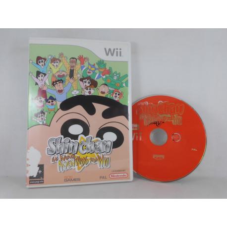 Shin Chan: Nuevas Aventuras para Wii