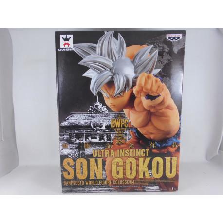 Dragon Ball World Figure Colosseum Ultra Instinct Son Goku
