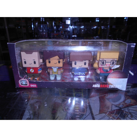 Big Bang Theory - Pixel 002 - Set de 4 Figuras