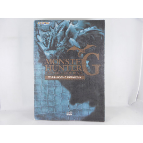 Guia Monster Hunter G Official Guide Book Japonesa