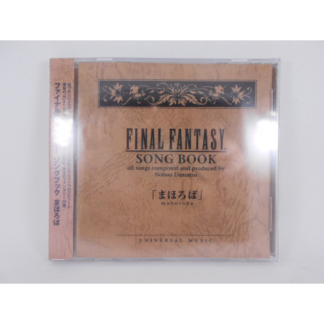 Final Fantasy Song Book Mahoroba / MICA0160