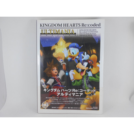 Guia Kingdom Hearts Re:Coded Ultimania Japonesa