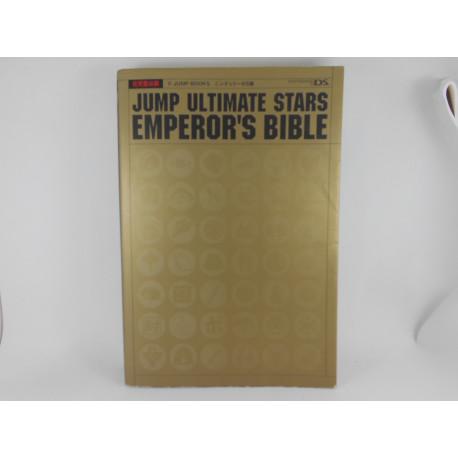 Guia Jump Ultimate Stars Emperor's Bible Japonesa