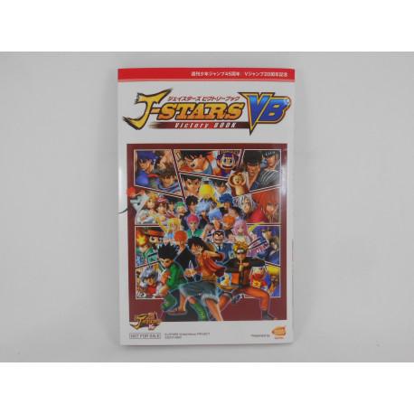 Guía J-Stars Victory Book Japonesa