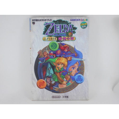 Guia Zelda Oracle of Ages Game Boy Color Japonesa