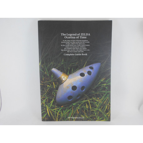 Guia The Legend of Zelda Ocarina of Time - Complete Guide Book Japonesa