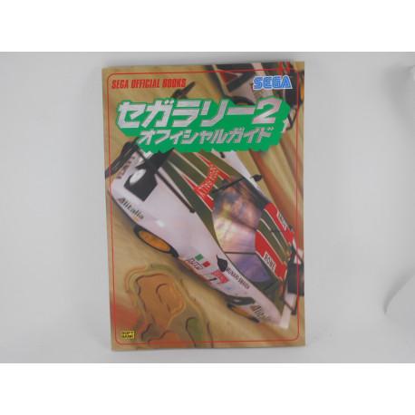 Guia Sega Rally 2 Sega Official Guide Book Japonesa