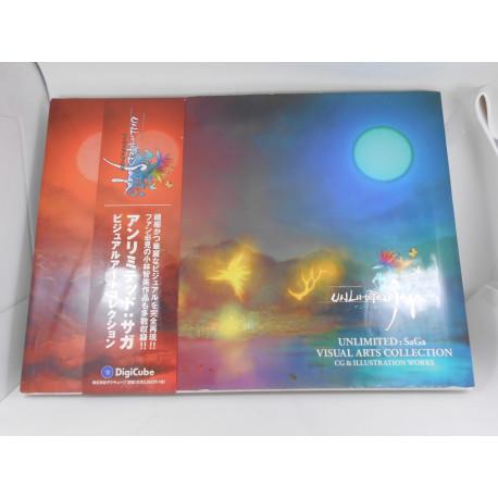 Unlimited SaGa Visual Arts Collection Japones