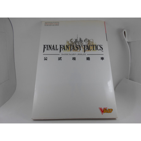 Guia Final Fantasy Tactics V-Jump Guide Book Japonesa