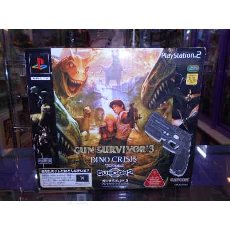 Gun Survivor 3 Dino Crisis + Guncon 2