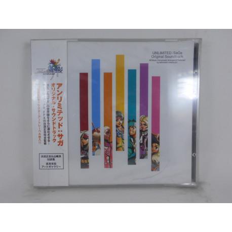 Unlimited SaGa / Original Soundtrack / ALCA8123-4