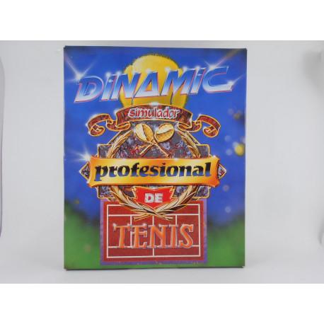 Amstrad - Dinamic Simulador Profesional de Tenis