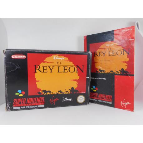 El Rey Leon.