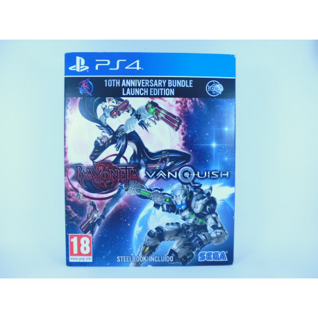 Bayonetta / Vanquish 10TH Anniversary Bundle Launch Edition