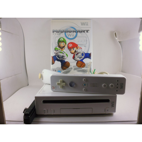 Nintendo Wii Japonesa + Mario Kart