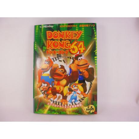 Guia Donkey Kong 64 Guide Book Japonesa
