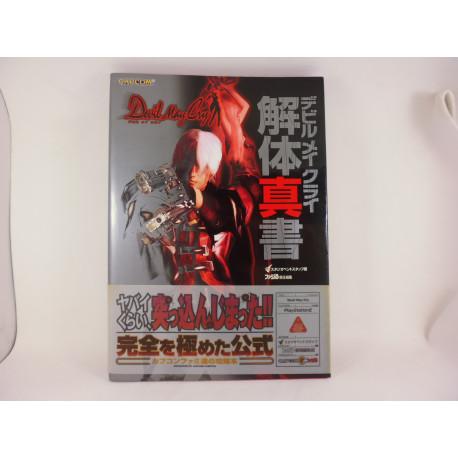 Guia Devil May Cry Kaitai Shinsho Guide Book Japonesa