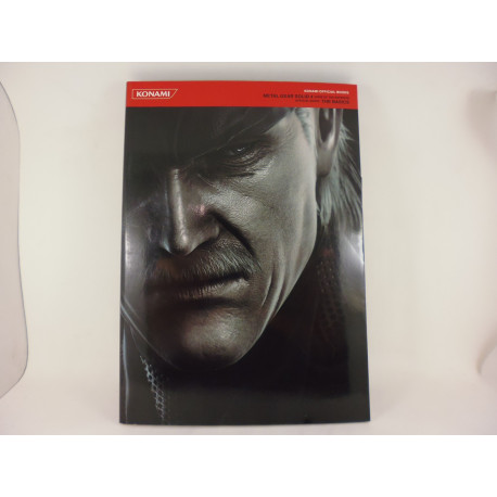Guia Metal Gear Solid 4 Official Guide The Basics Japonesa