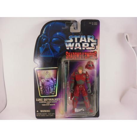 Luke Skywalker in Imperial Guard Disguis