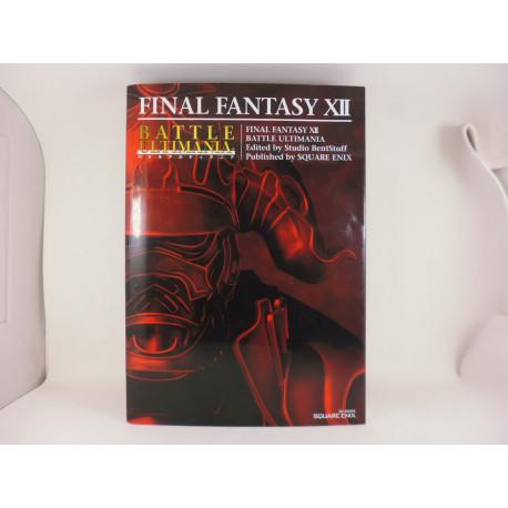 Guia Final Fantasy XII Battle Ultimania Guide Japonesa