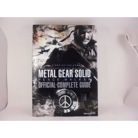 Guia Metal Gear Solid Peace Walker Official Complete Guide Japonesa