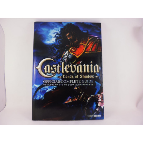 Guia Castlevania Lords of Shadow Official Complete Guide Japonesa