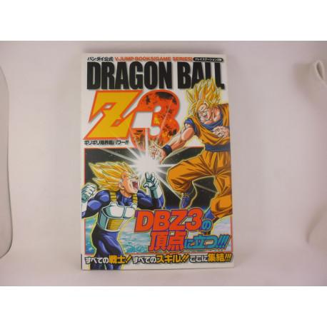 Guia Dragon Ball Z 3 PS2 Guide Japonesa