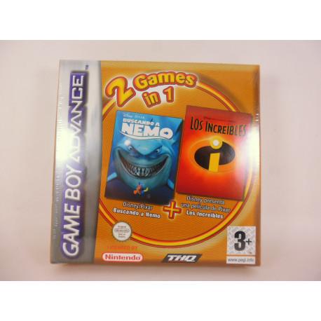 Buscando a Nemo + Los Increibles Pack