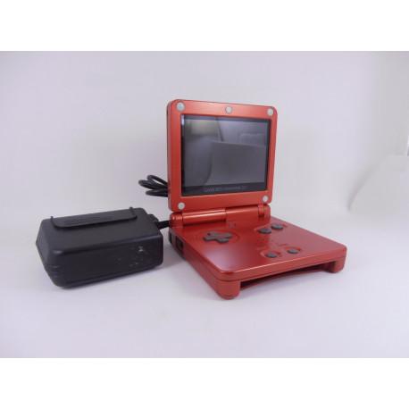 Game Boy Advance SP Rojo Fuego Pantalla IPS Ver. 2.0