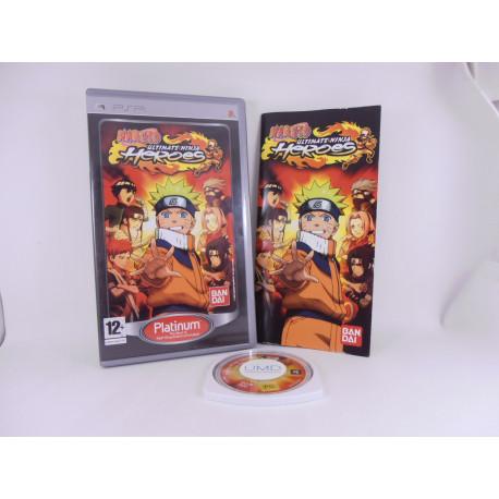 Naruto Ultimate Ninja Heroes Platinum