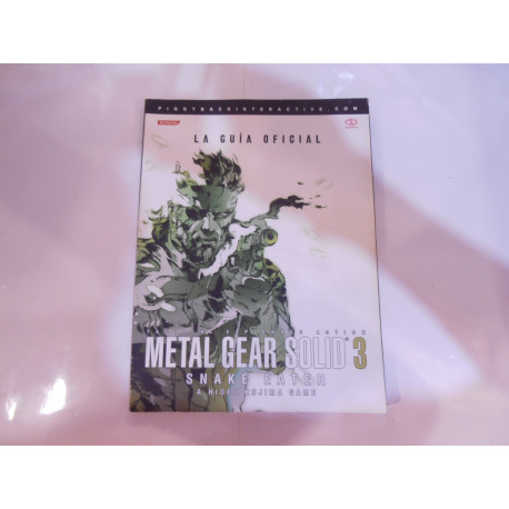 Guía Oficial Metal Gear Solid 3 Snake Eater