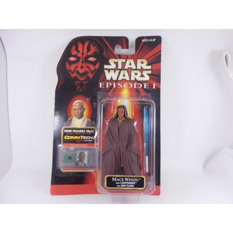 Mace Windu Lightsaber and Jedi Cloak