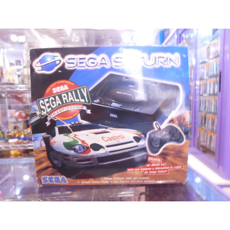 Sega Saturn Sega Rally Pack (Solo venta en tienda)