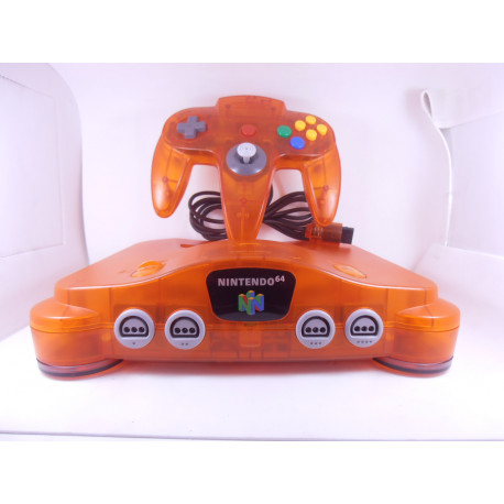 Nintendo 64 Fire Orange