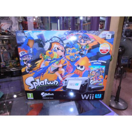 Nintendo Wii-U Splatoon Premium Pack (Solo venta en tienda)