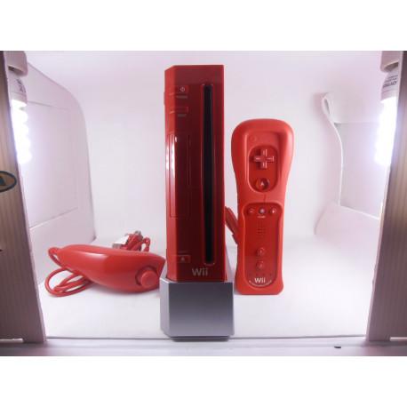 Nintendo Wii Roja (Solo venta en tienda)