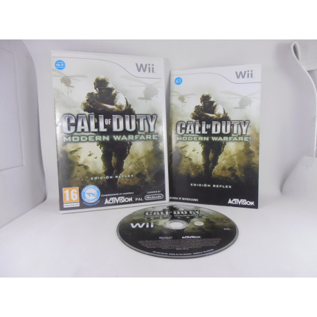 Call Of Duty Modern Warfare Ed. Reflex